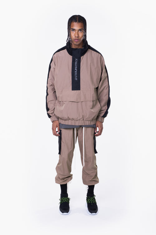M93 anorak / dust + black