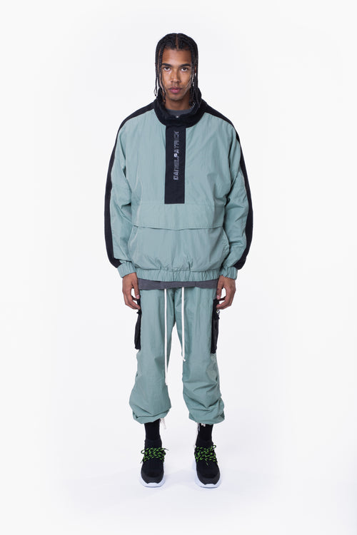 M93 anorak / sea foam + black
