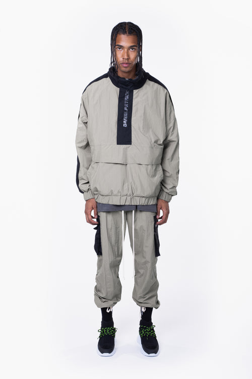 M93 anorak / smog grey + black
