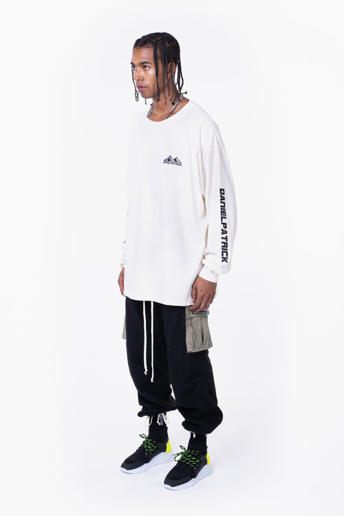 moving mountains l/s tee / natural