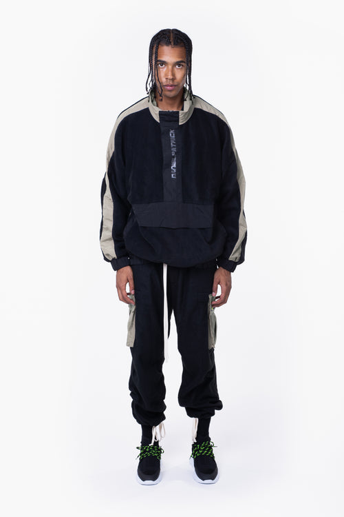 M93 anorak / black + smog grey