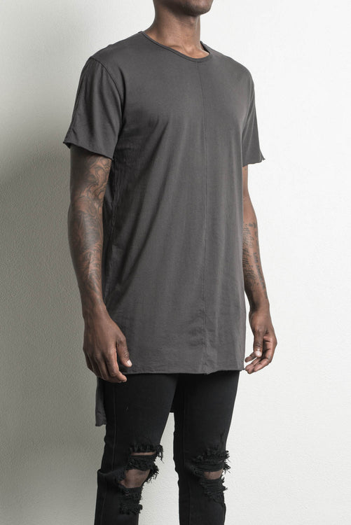trail tee ii in faded black by daniel patrick