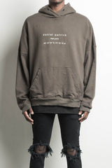 heavy hoodie NY in army by daniel patrick