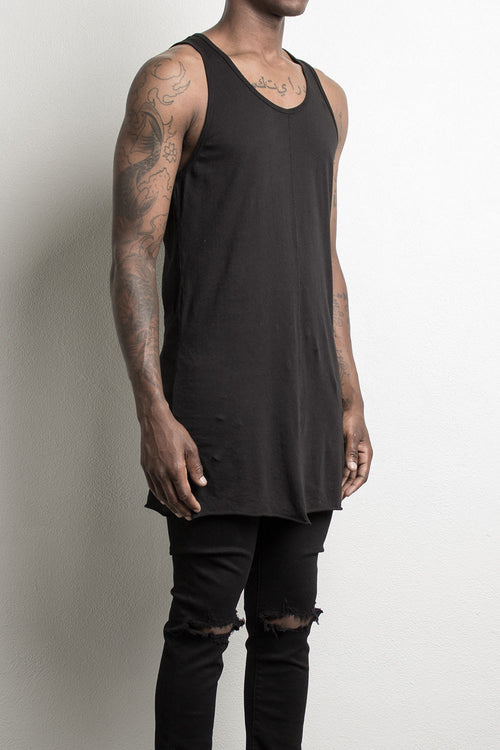 loose tank top by daniel patrick in black