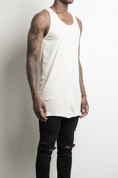 loose tank top by daniel patrick in natural