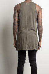loose tank top by daniel patrick in army