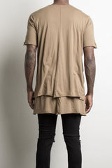 layered tee by daniel patrick, in antelope