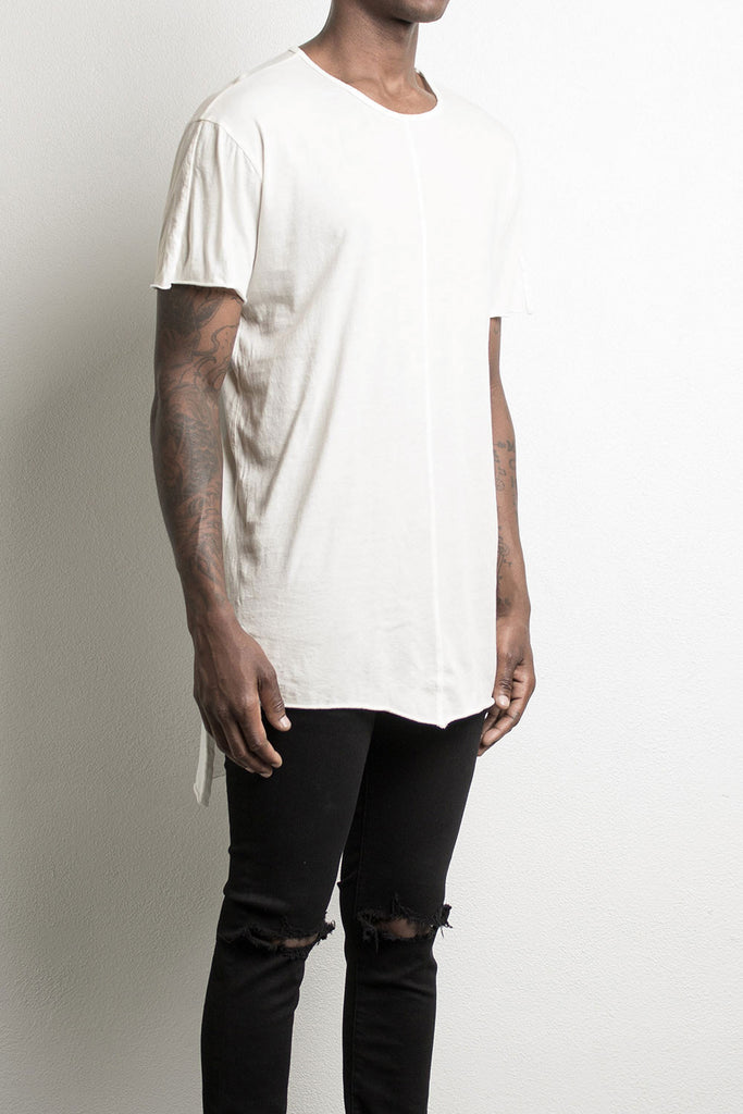 long back t-shirt by daniel patrick in natural