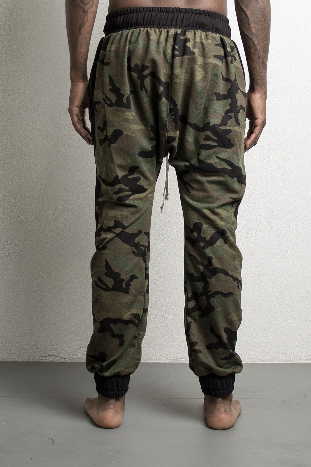 roaming track pants by daniel patrick in camo