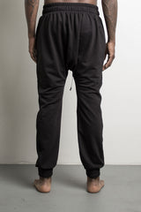 roaming track pants by daniel patrick in black