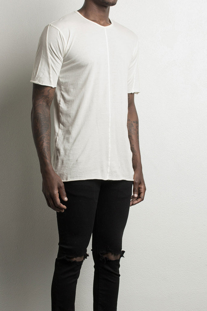 loose t-shirt by daniel patrick in Natural