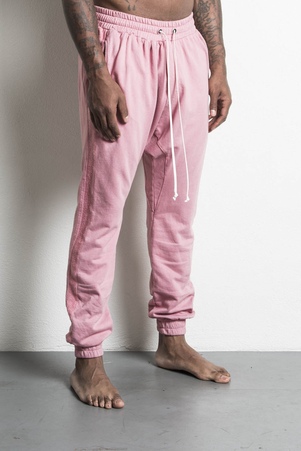 roaming track pant in blush daniel patrick