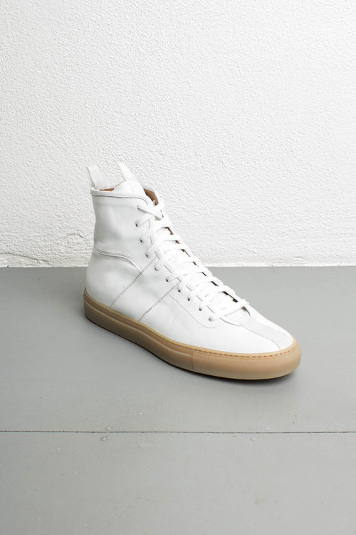 white high top sneakers by daniel patrick