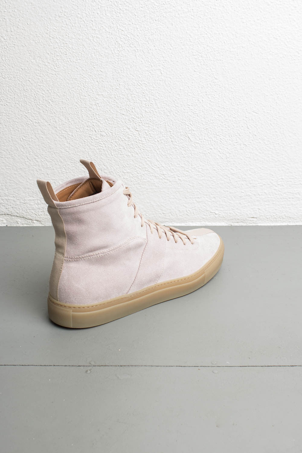 leather high top sneakers by daniel patrick
