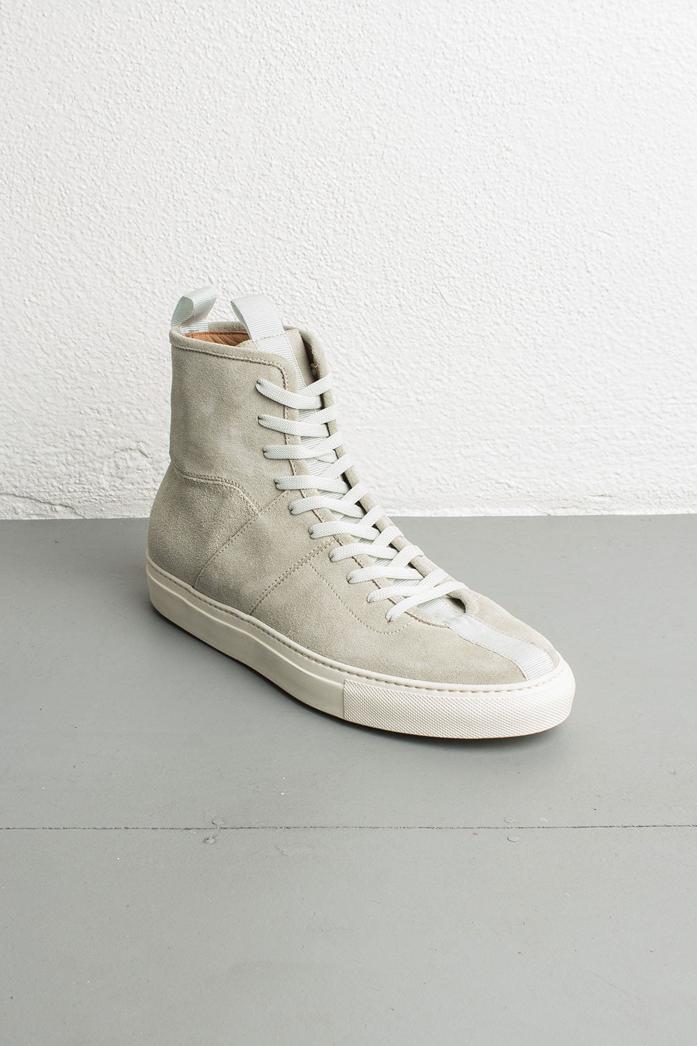 sage high top sneakers by daniel patrick