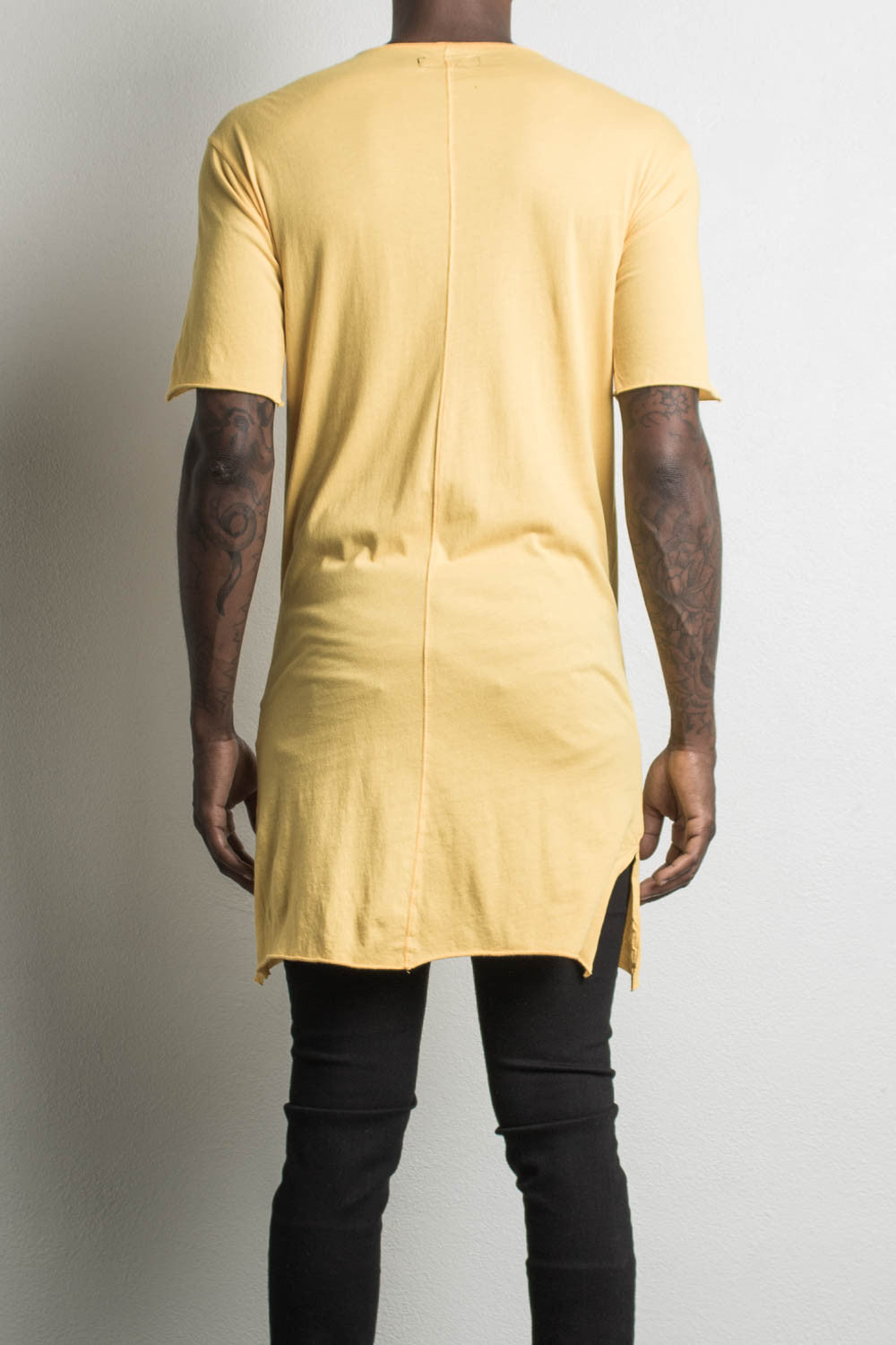 loose t-shirt by daniel patrick in yellow