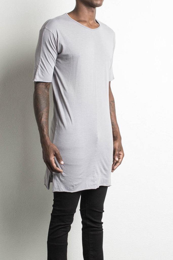 loose t-shirt by daniel patrick in purple grey