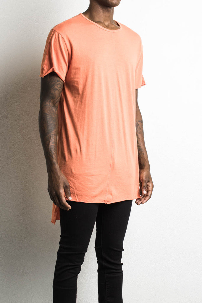 trail tee ii in orange by daniel patrick