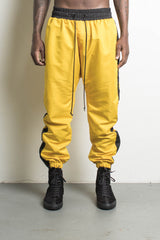 Parachute Pants Yellow/Black