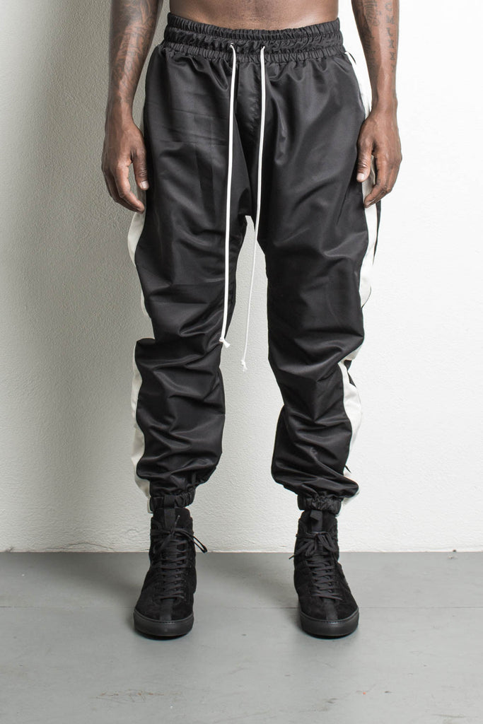 Parachute Track Pants Black/Natural