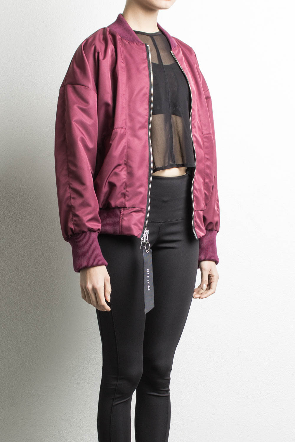 womens bomber jacket by daniel patrick