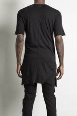 Black loose shirt by daniel patrick