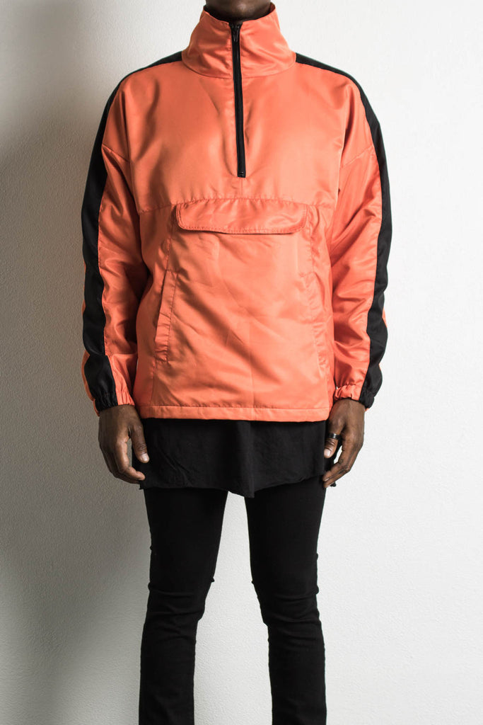 Track Jacket Orange/Black