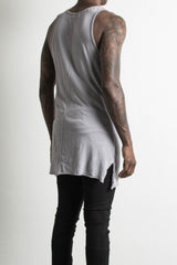 loose tank / purple grey