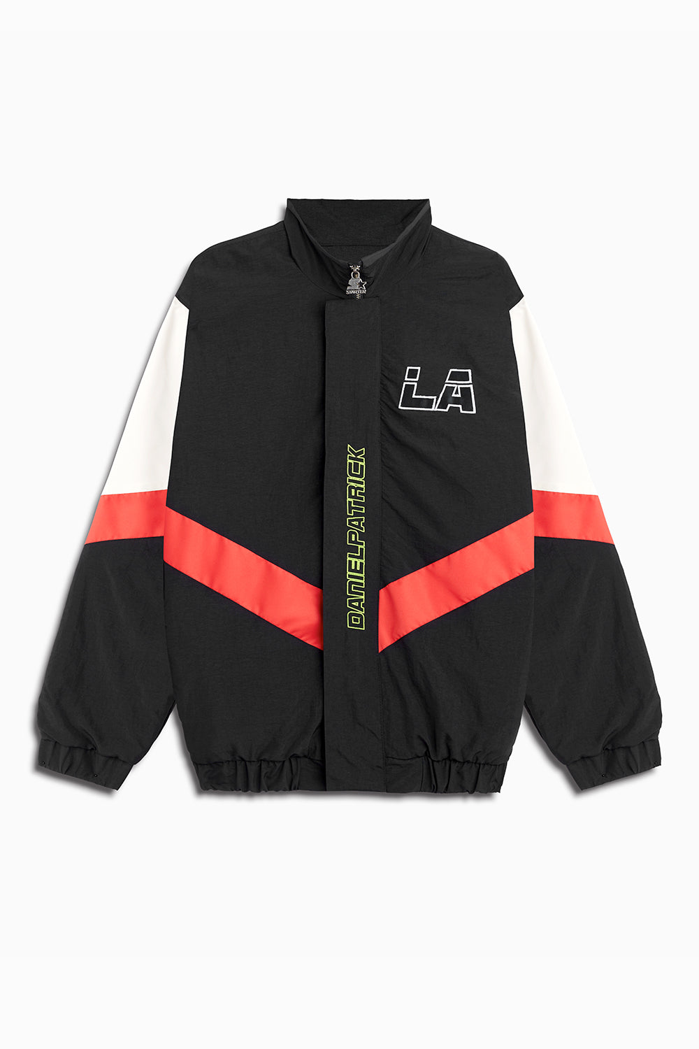 DP Starter LA team jacket in black/red/ivory by daniel patrick x starter