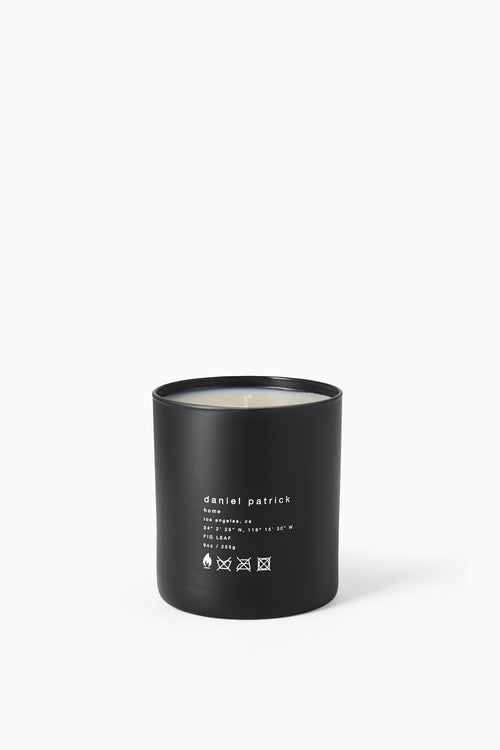 daniel patrick x antica farmacista fig leaf candle