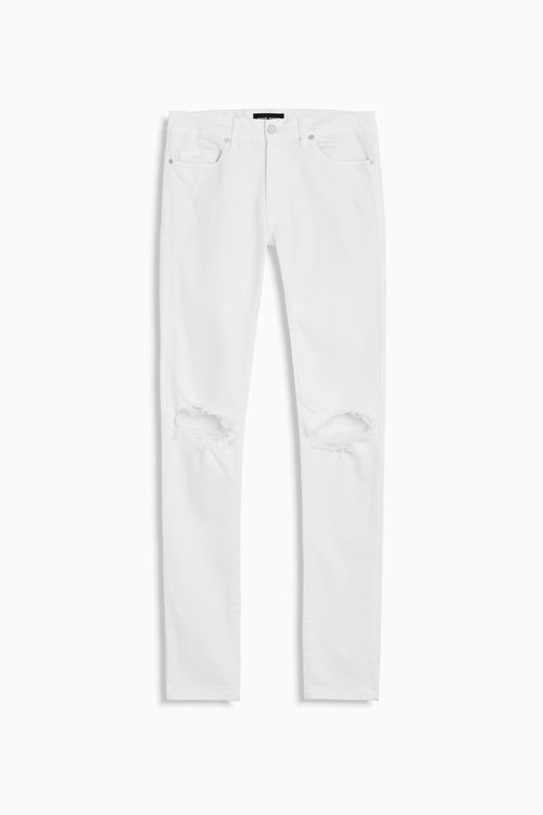classic ripped skinny jean ii in natural by daniel patrick