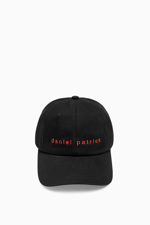 dp dad cap in black/red by daniel patrick