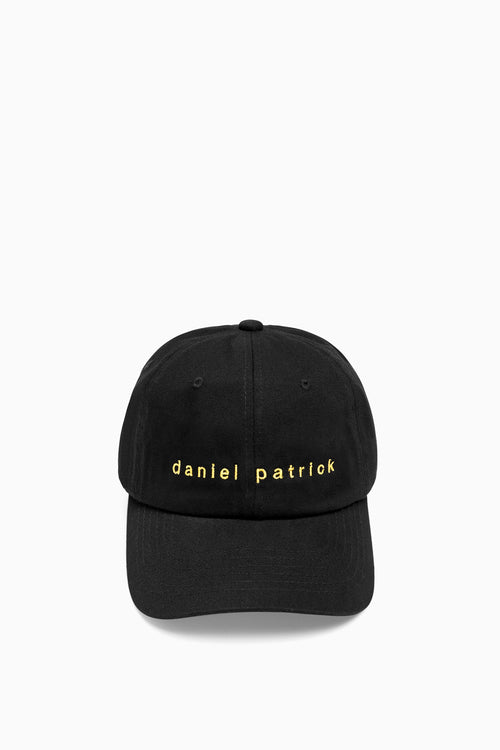 dp dad cap in black/yellow by daniel patrick