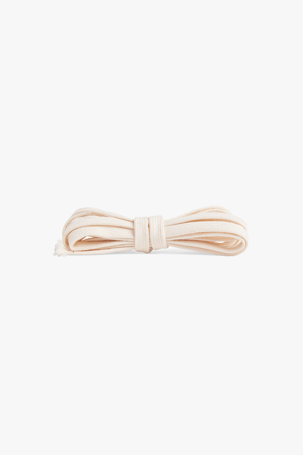 cotton flat cord / natural