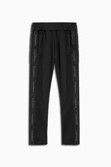 snap track pant in black by daniel patrick