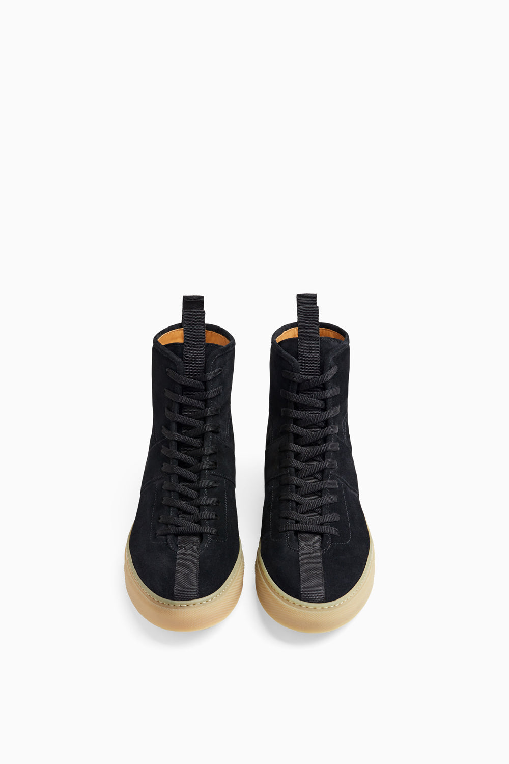 black/gum high top roamers by daniel patrick