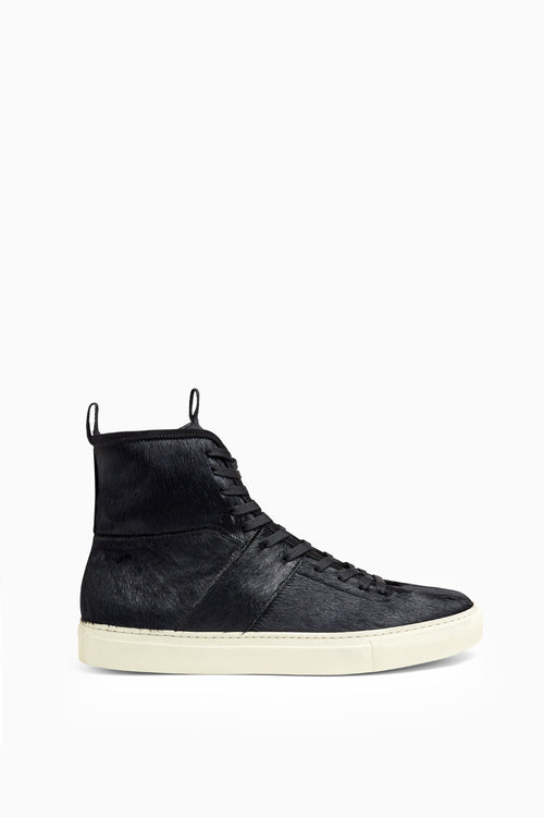 high top roamer in black pony by daniel patrick