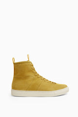 high top roamer in yellow by daniel patrick