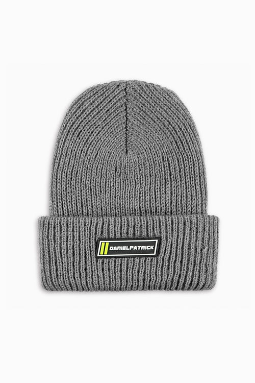 DP beanie in grey by daniel patrick