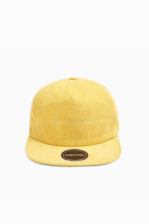 DP 5 panel cap / yellow