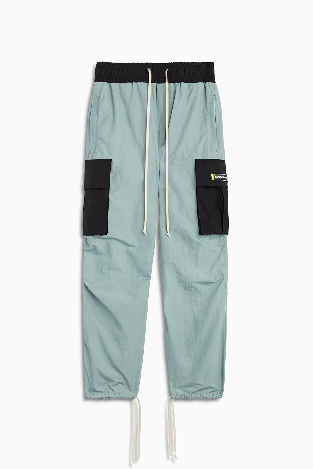 M93 cargo pants in sea foam/black by daniel patrick