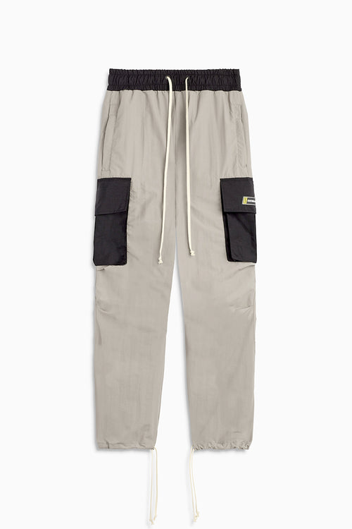 M93 cargo pants in smog grey/black by daniel patrick