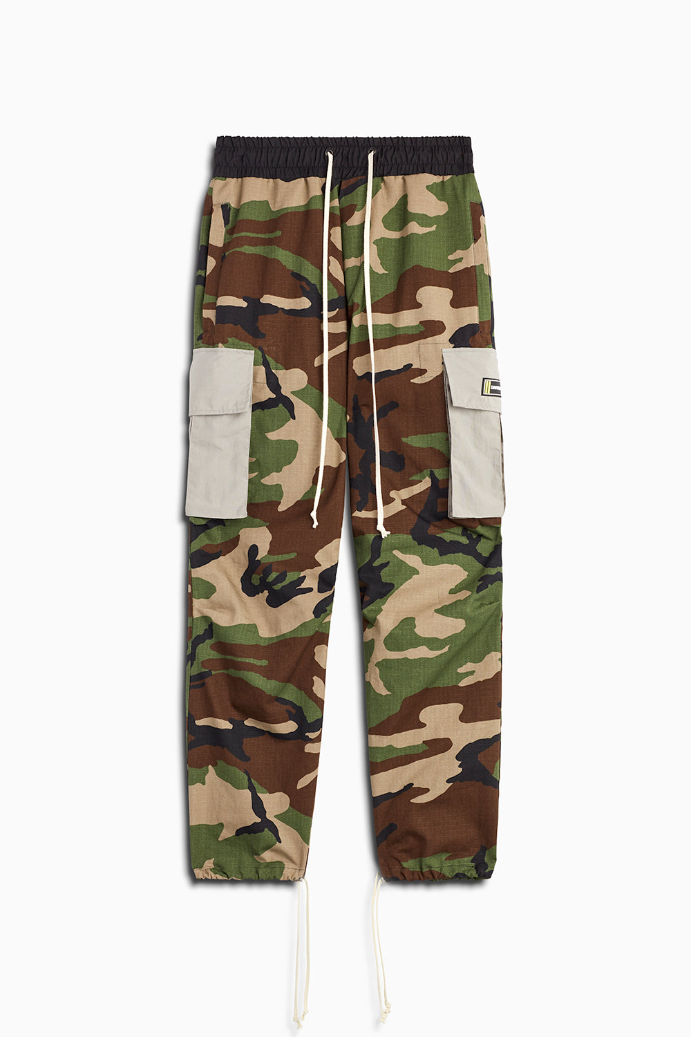 M93 cargo pants in camo/smog grey by daniel patrick