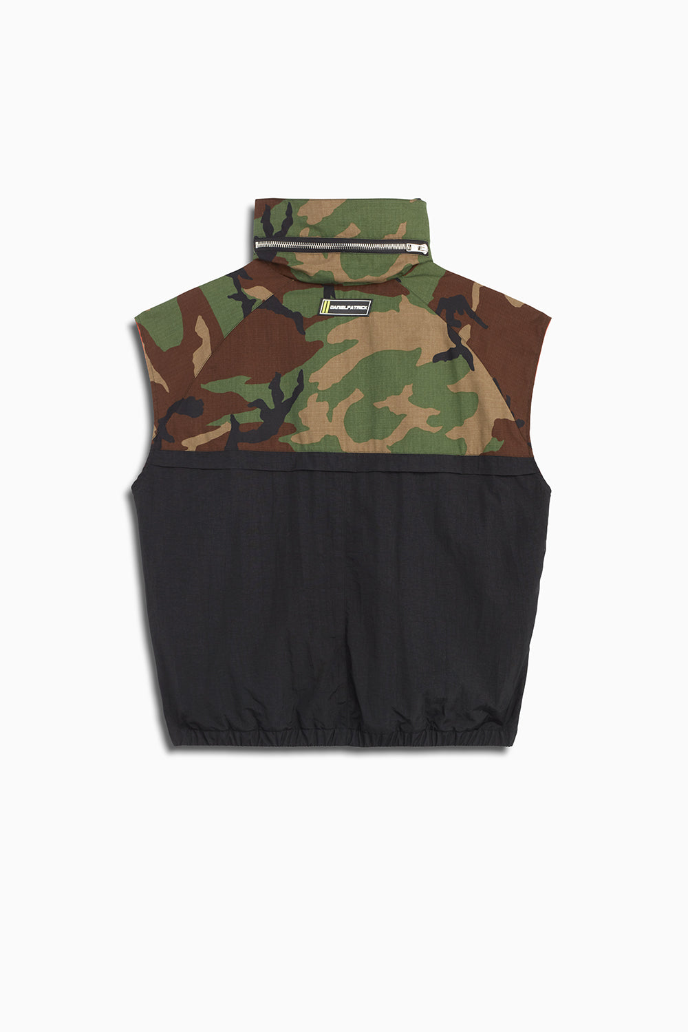 M93 cargo vest in camo/smog grey/black by daniel patrick