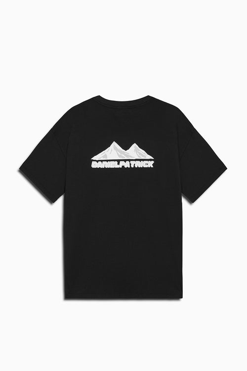 moving mountains tee in black by daniel patrick