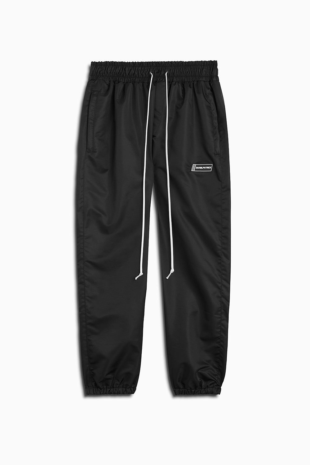 parachute track pant iv in black by daniel patrick