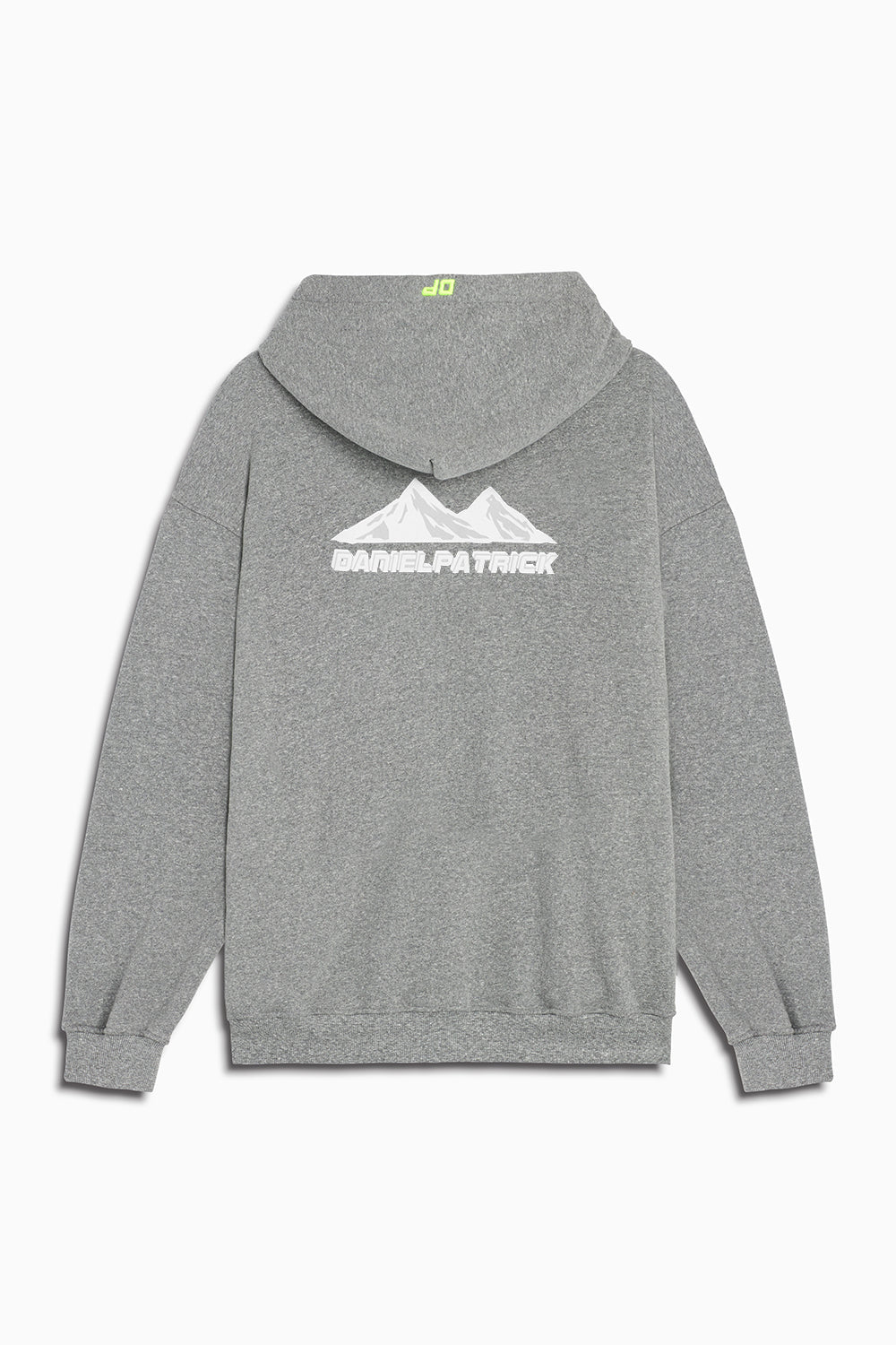 moving mountains hoodie in heather grey by daniel patrick