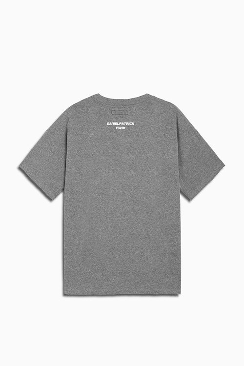 94 b-ball tee in heather grey by daniel patrick