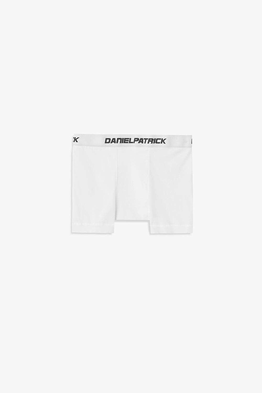 dp boxer brief in white by daniel patrick