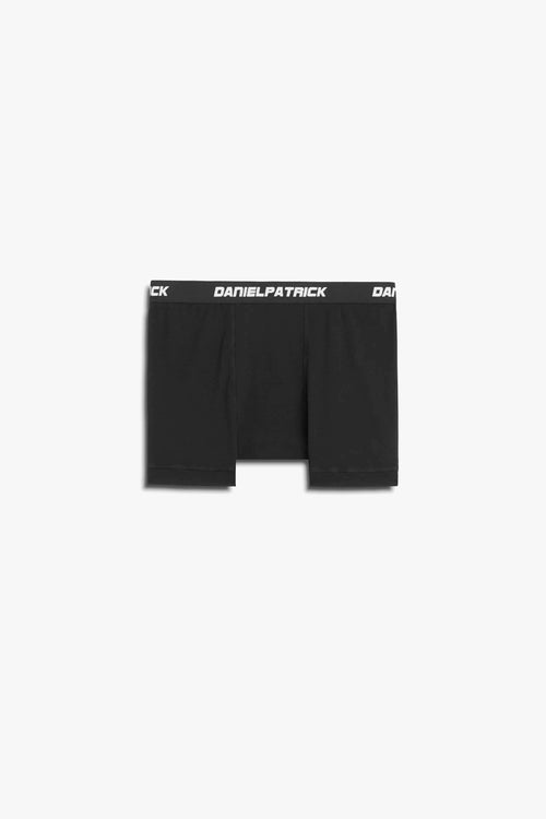 dp boxer brief in black by daniel patrick